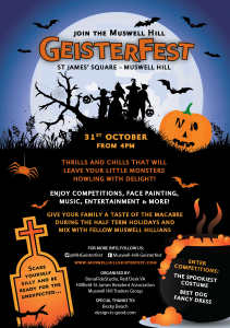 Halloween event Muswell Hill