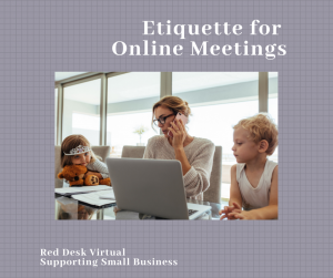 online business meetings
