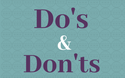 Building a Website – Do's & Don'ts