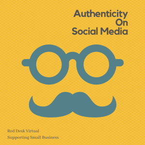 Authenticity on Social Media